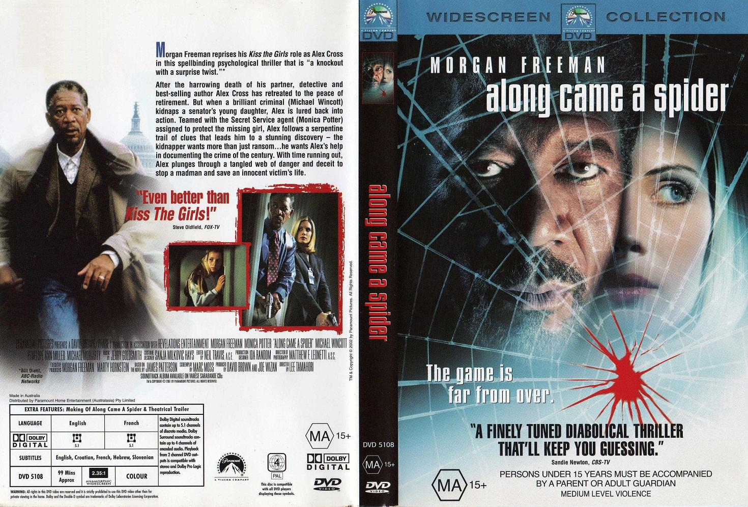 Movies Collection: Along Came a Spider [2001]